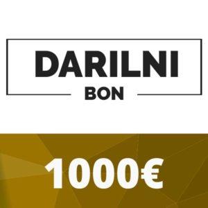 Darilni bon 1000 €
