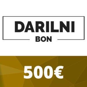 Darilni bon 500 €